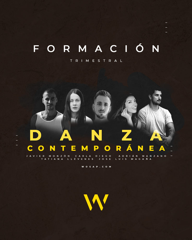 Cartel de Danza Contemporánea